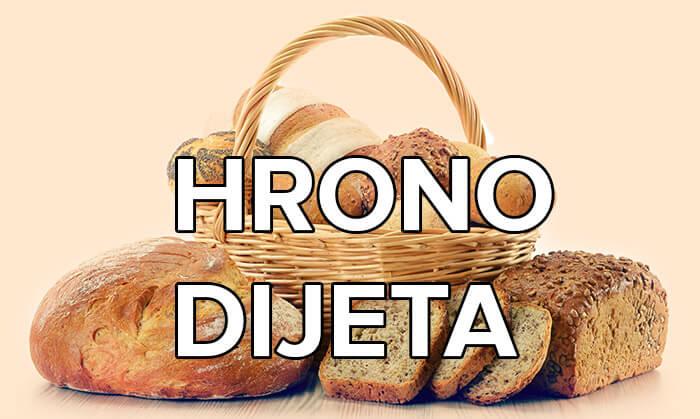 recept za hrono hleb i dijetu