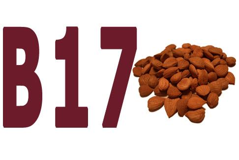 vitamin b17 ilustracija.