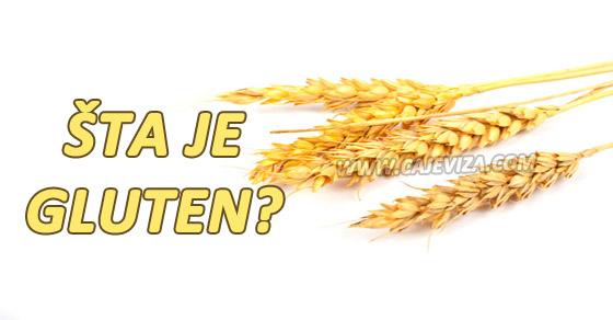 gluten alergija