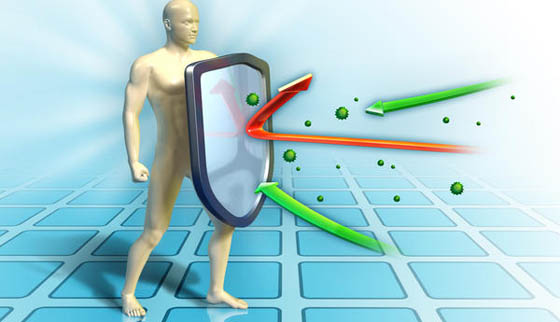 imunitet test ilustracija.