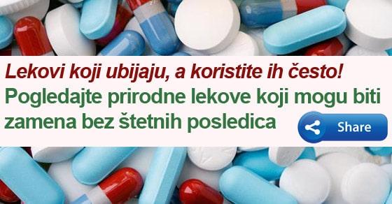 prirodni lekovi ilustracija.