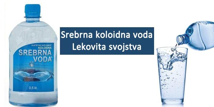srebrna voda kao lek