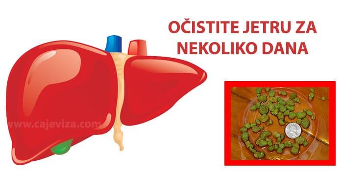 ciscenje jetre na prirodan nacin