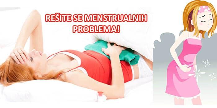 menstrualni problemi ilustracija.
