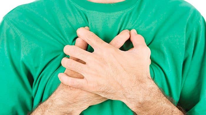 bolovi u grudima