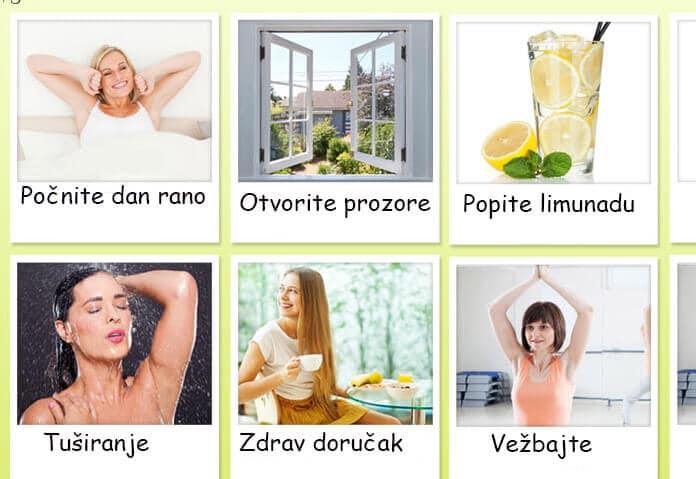 zdrave jutarnje navike