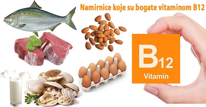 namirnice bogate vitaminom b12