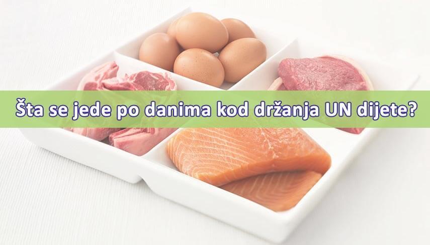 un dijeta proteinska hrana