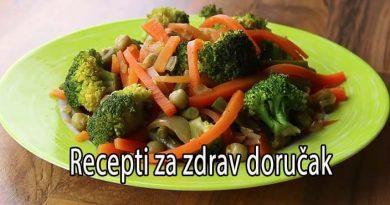 zdrav dorucak recept