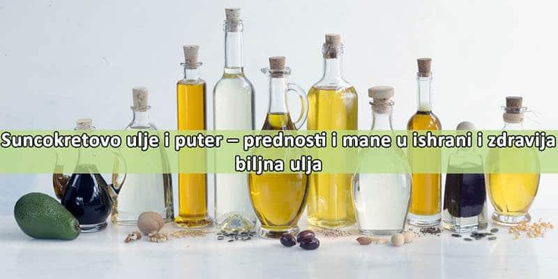 Iustracija suncokretovog ulja sa tekstom