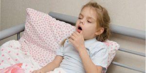 bronhitis ilustracija kod dece.