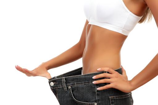 slika mršave žene.
